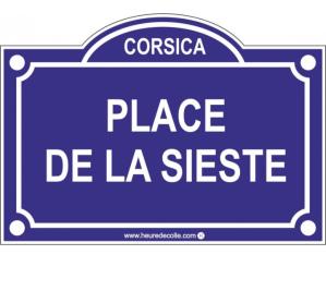 PLACE DE LA SIESTE
